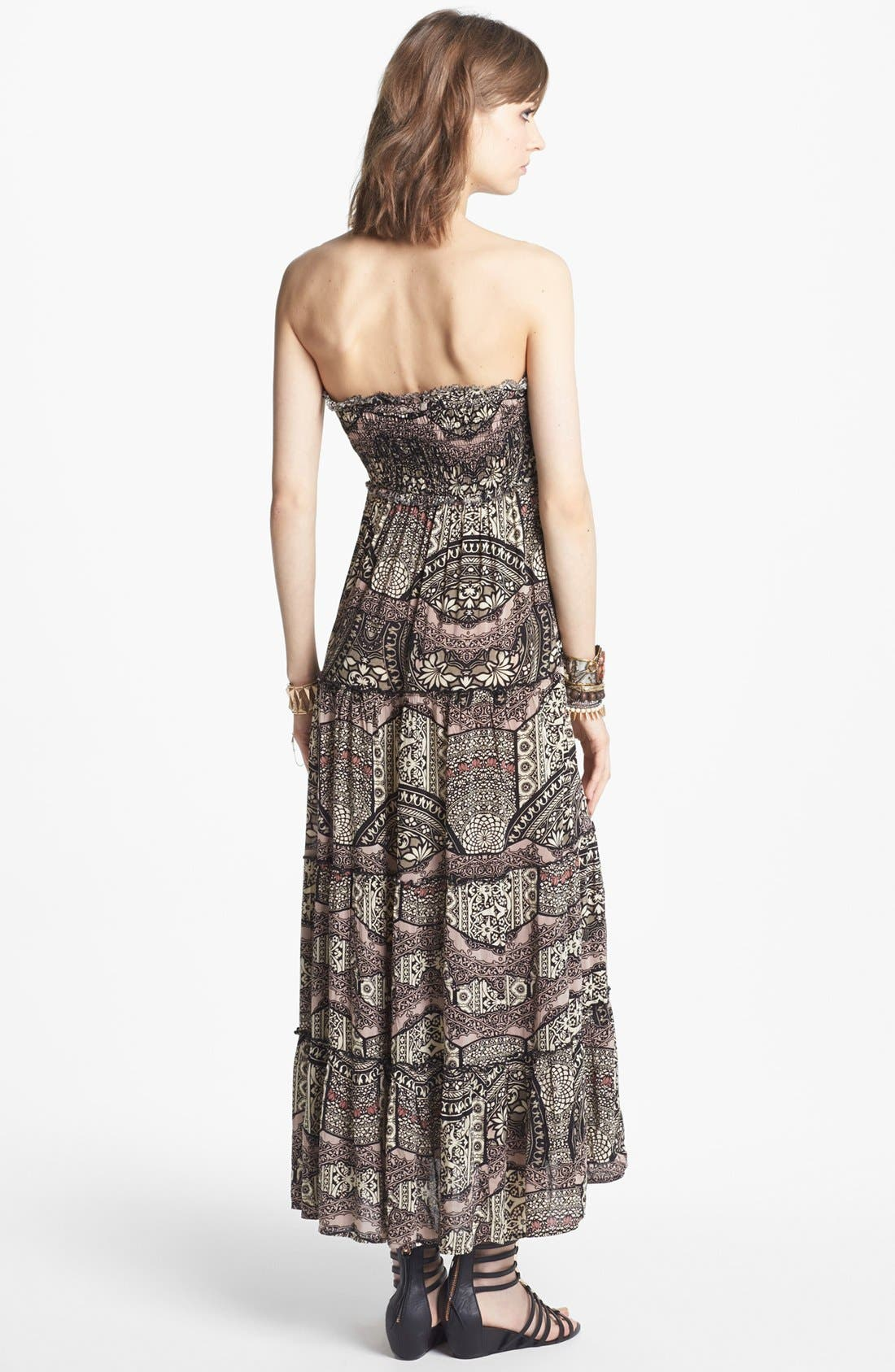 Alternate Image 2  - Free People 'Easy Come' Print Maxi Dress