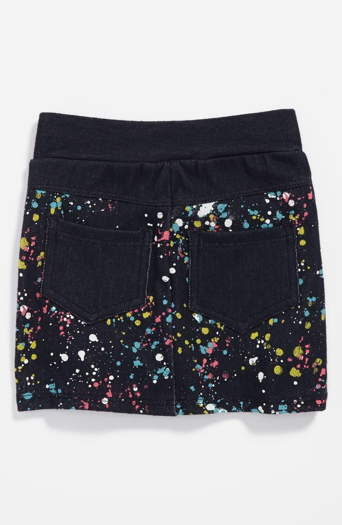 Alternate Image 2  - TA-EAM Print Scooter Skirt (Toddler Girls)