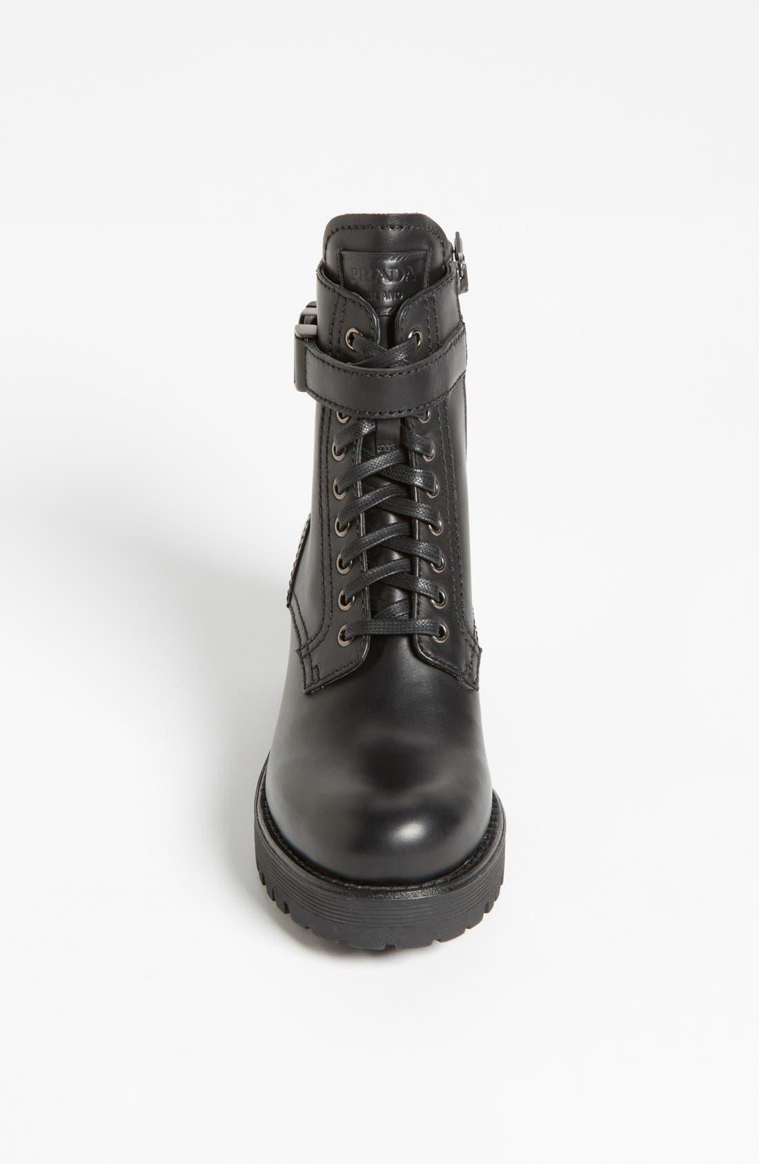 Alternate Image 3  - Prada Short Moto Boot