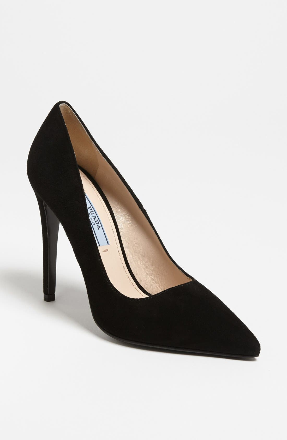 Alternate Image 1 Selected - Prada Pointy Toe Pump