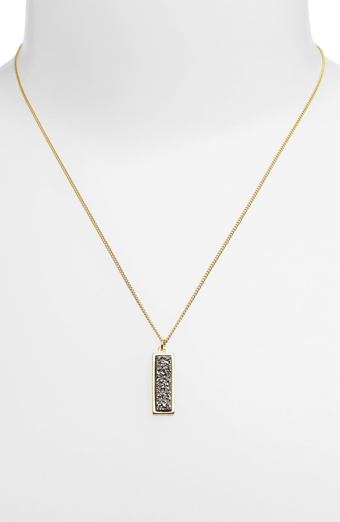 Alternate Image 1 Selected - Marcia Moran Drusy Pendant Necklace (Online Only)