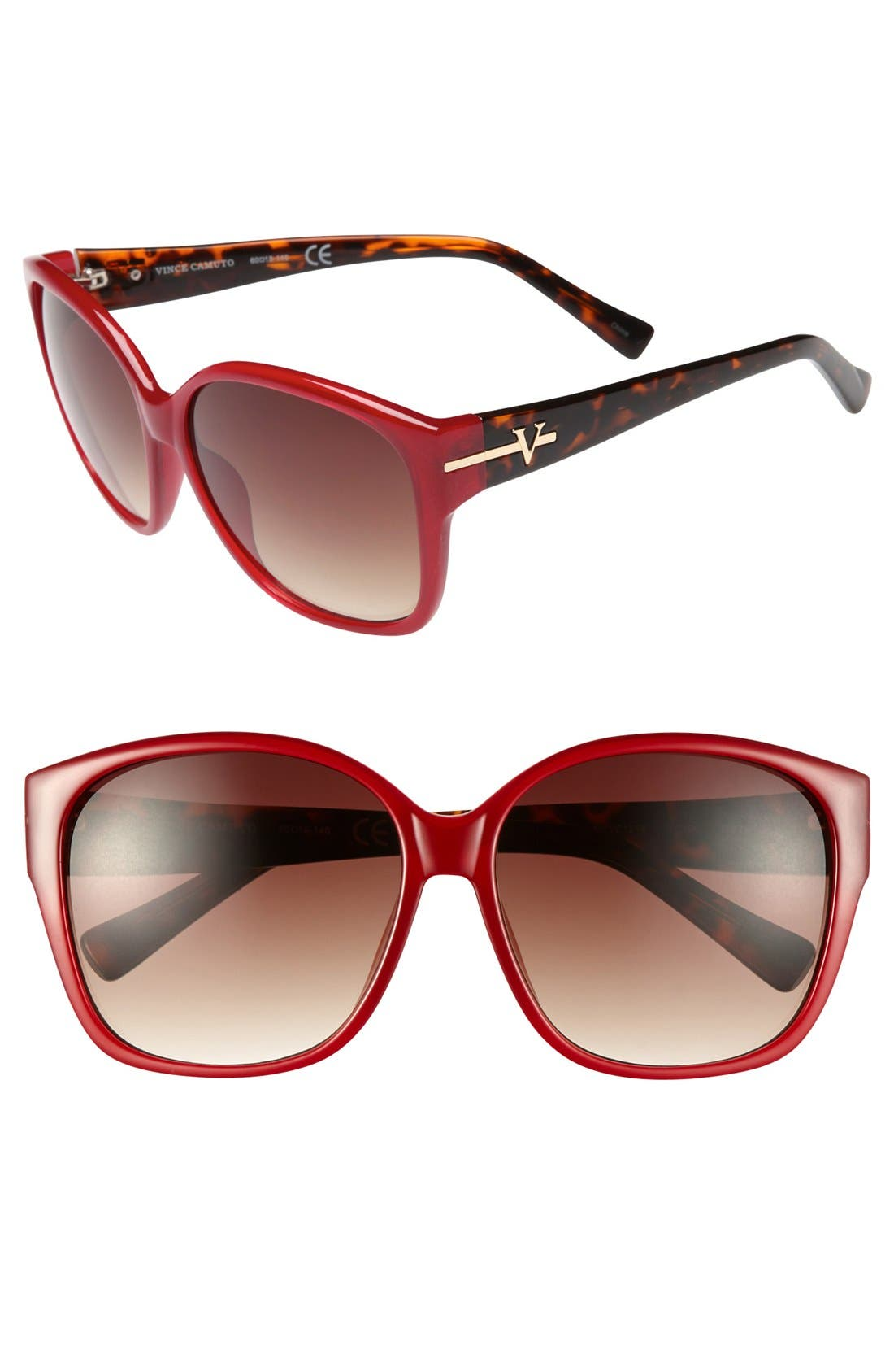 Alternate Image 1 Selected - Vince Camuto 60mm Retro Sunglasses