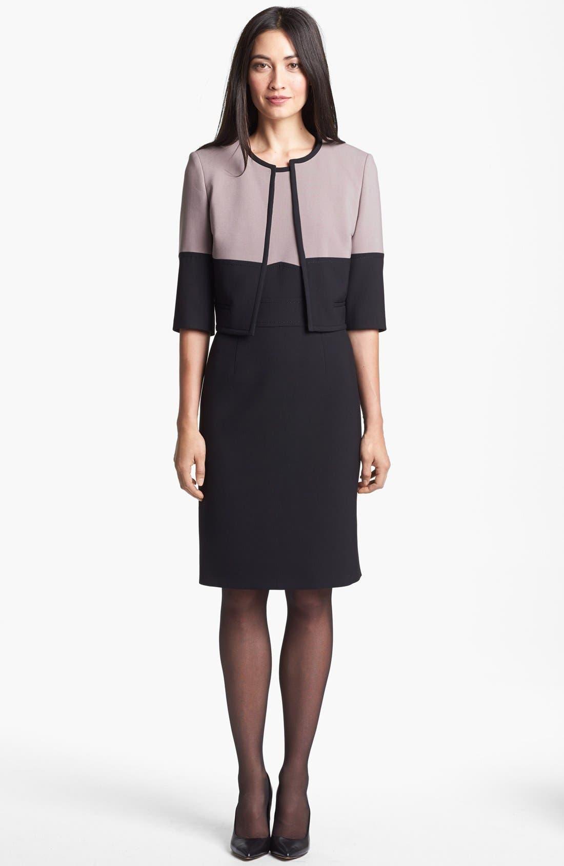 Alternate Image 3  - BOSS HUGO BOSS 'Dalota' Sheath Dress