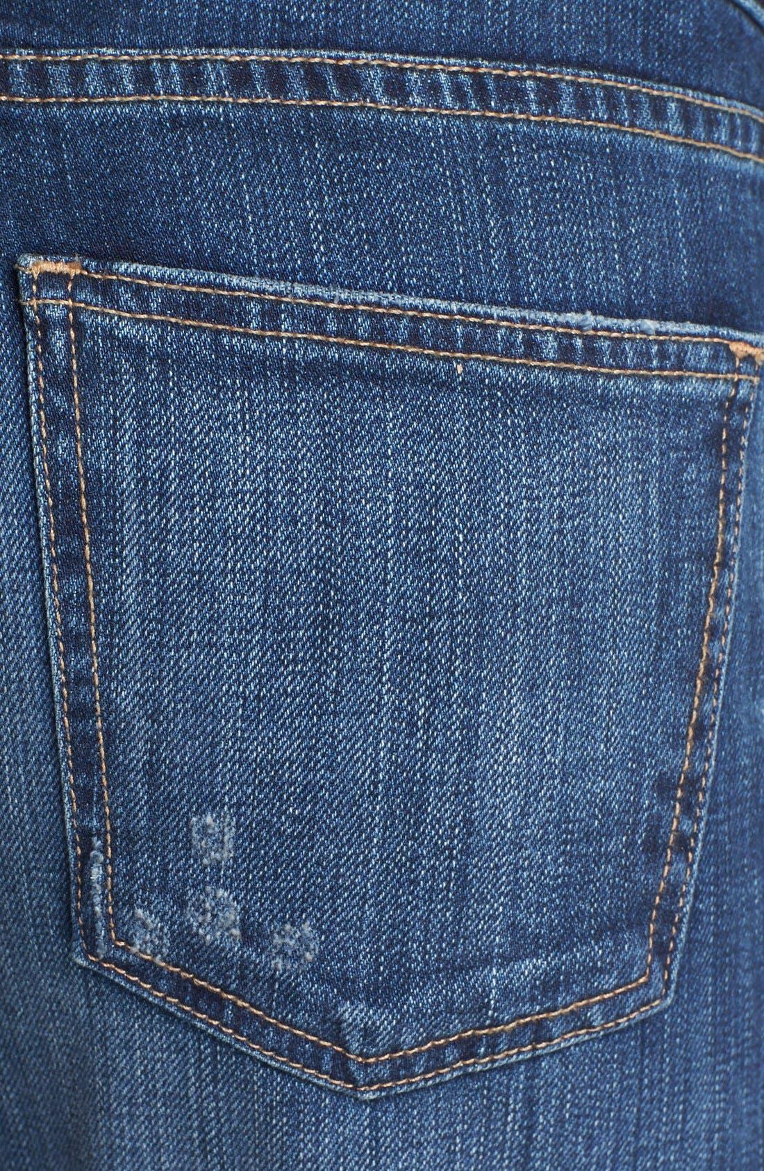 Alternate Image 3  - Current/Elliott 'The Fling' Rolled Jeans (Loved)