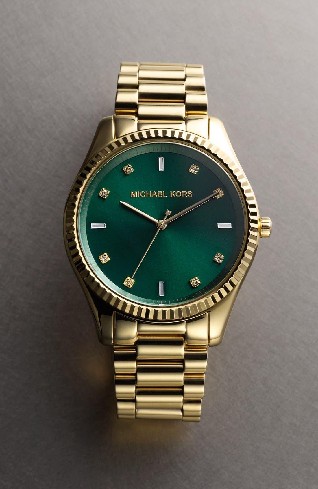 Alternate Image 4  - Michael Kors 'Blake' Bracelet Watch, 42mm