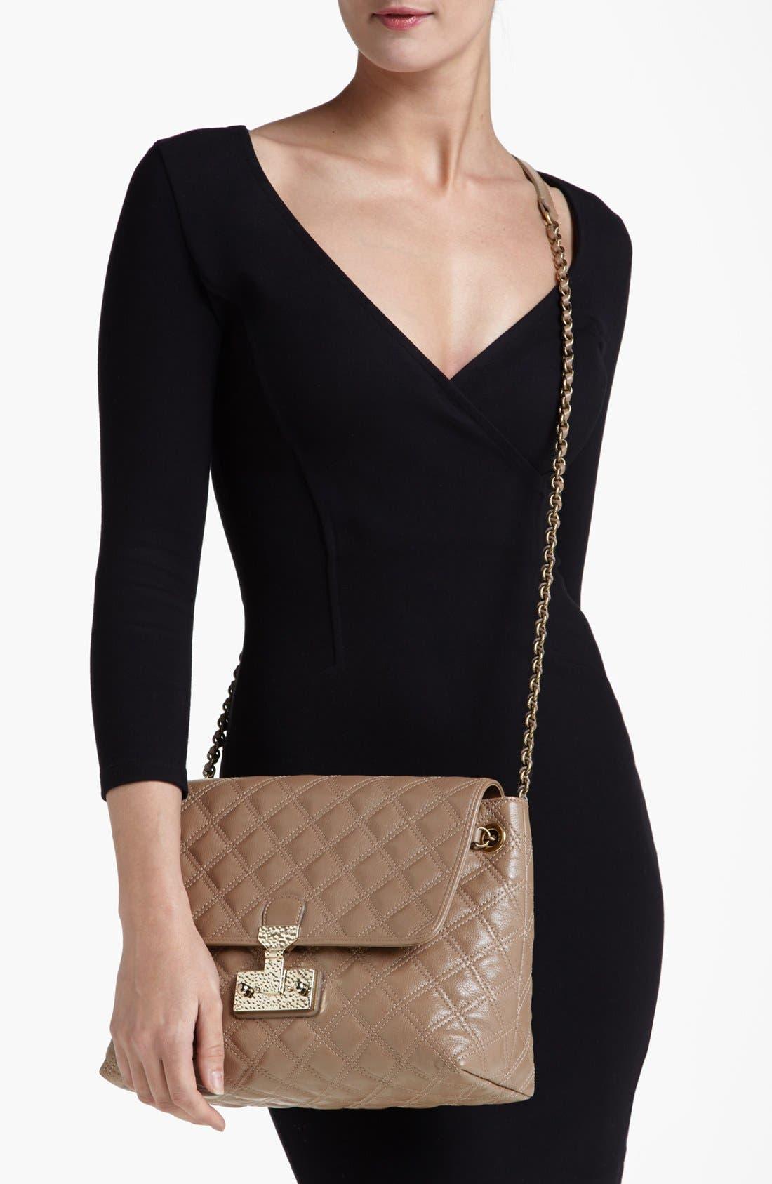 Alternate Image 2  - MARC JACOBS 'Baroque XL Single' Leather Shoulder Bag