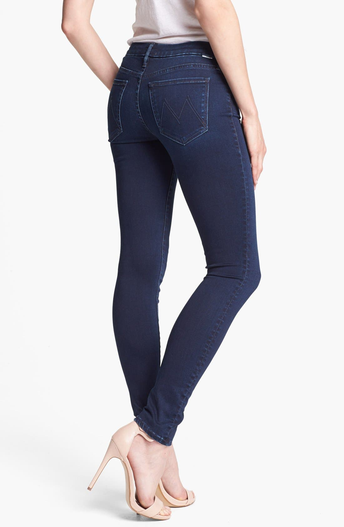 Alternate Image 2  - MOTHER 'The Looker' Skinny Stretch Jeans (Body Electric)