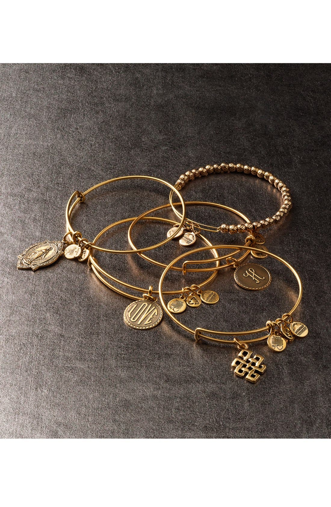 Alternate Image 3  - Alex and Ani 'Euphrates' Expandable Wire Bangle