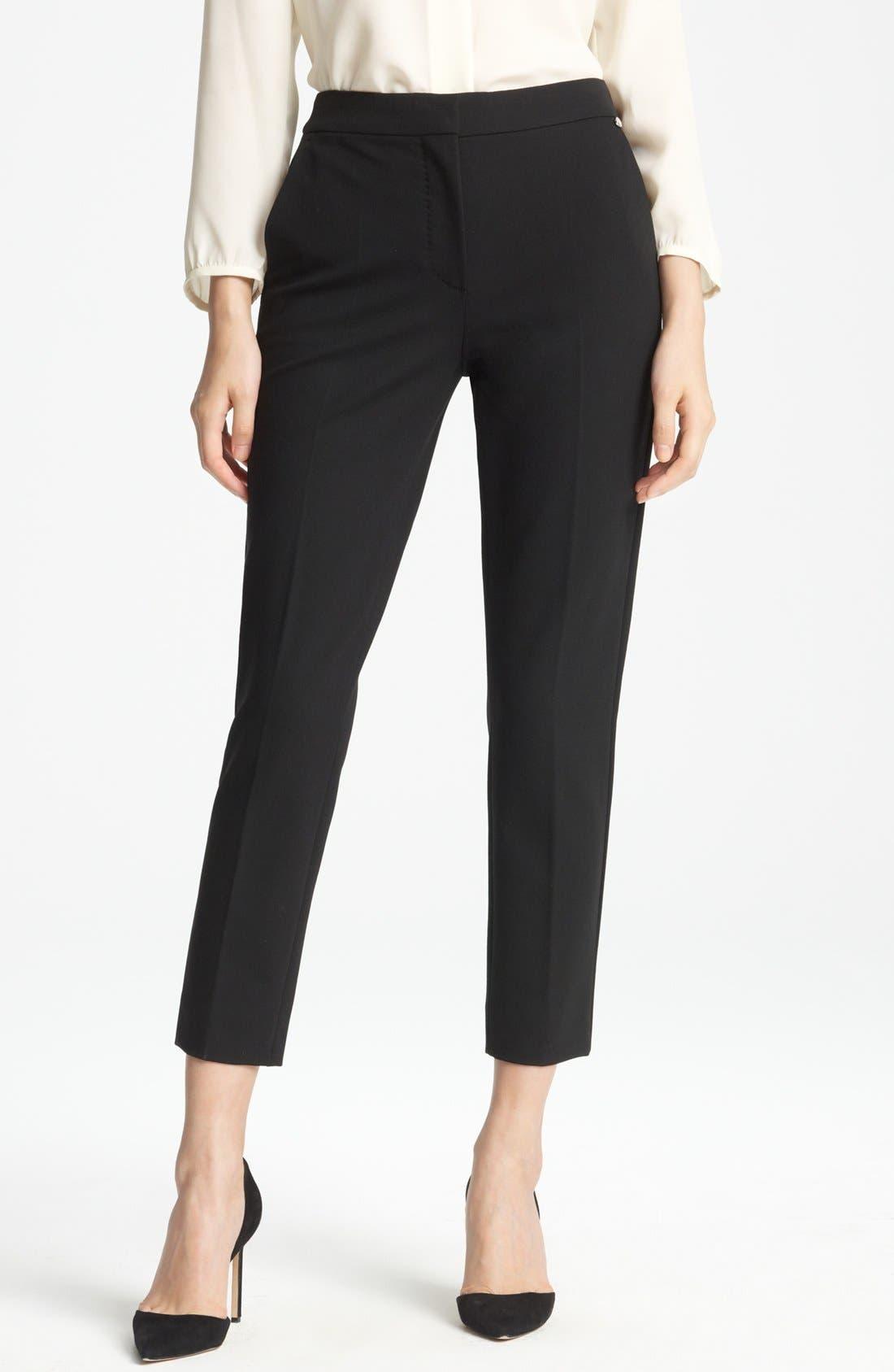 Alternate Image 1 Selected - Max Mara 'Pegno' Slim Jersey Pants