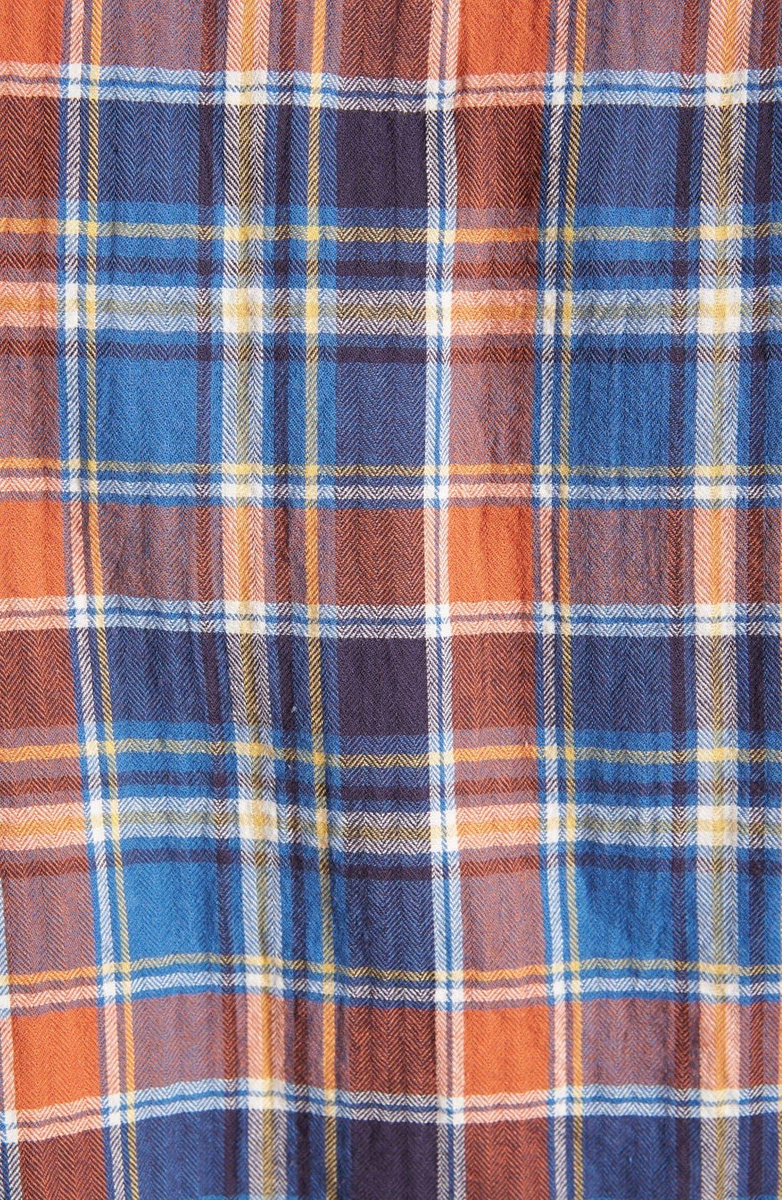 Alternate Image 3  - rag & bone 'Beach' Herringbone Plaid Woven Shirt