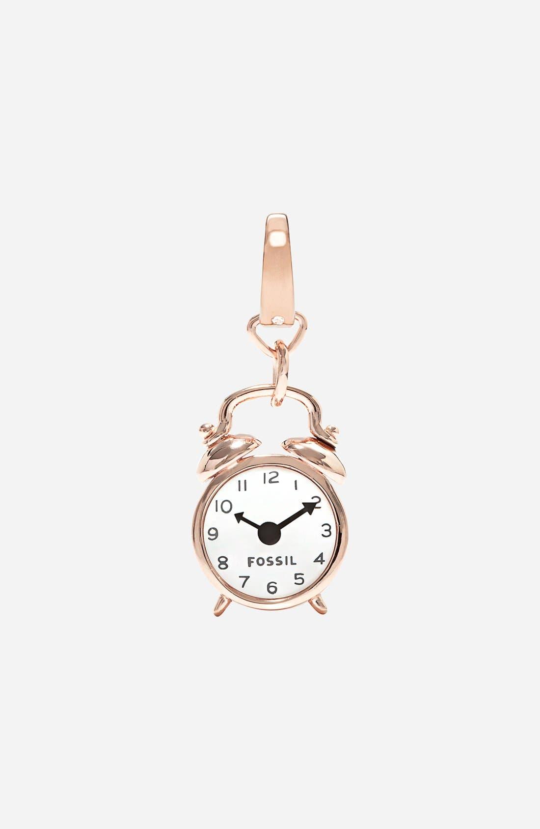 Main Image - Fossil Alarm Clock Dangle Charm
