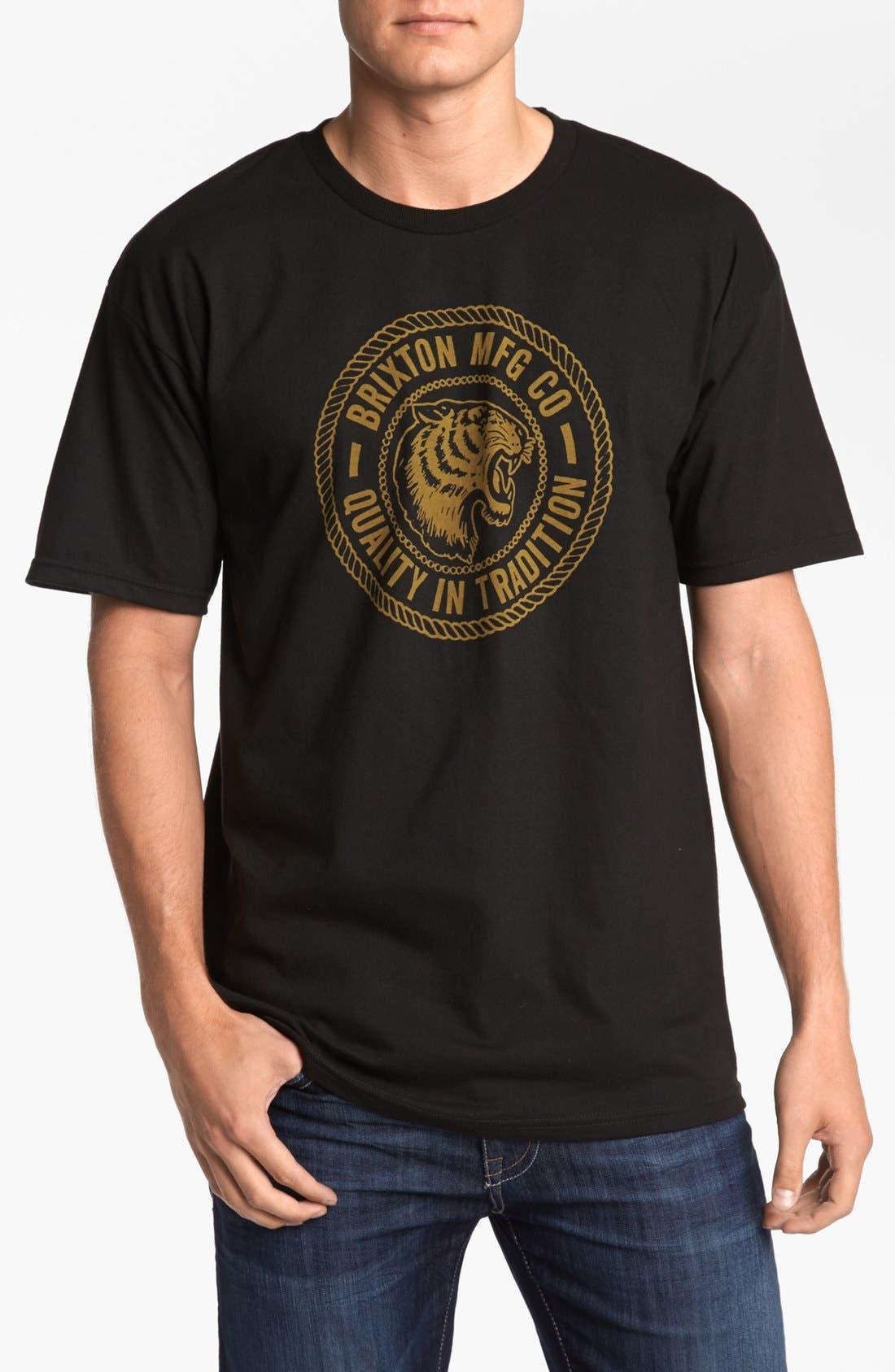 Alternate Image 1 Selected - Brixton 'Cambridge' T-Shirt