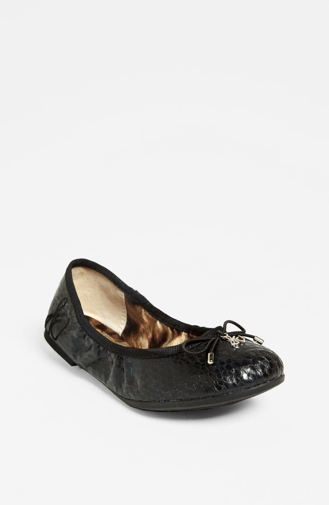 Alternate Image 1 Selected - Sam Edelman 'Fiona' Ballet Flat (Toddler, Little Kid & Big Kid)