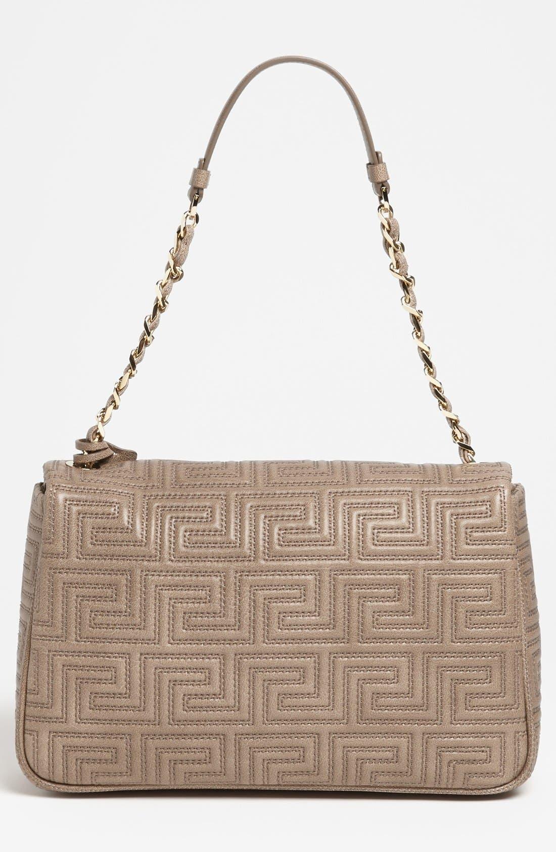 Alternate Image 4  - Versace 'Couture' Leather Flap Shoulder Bag