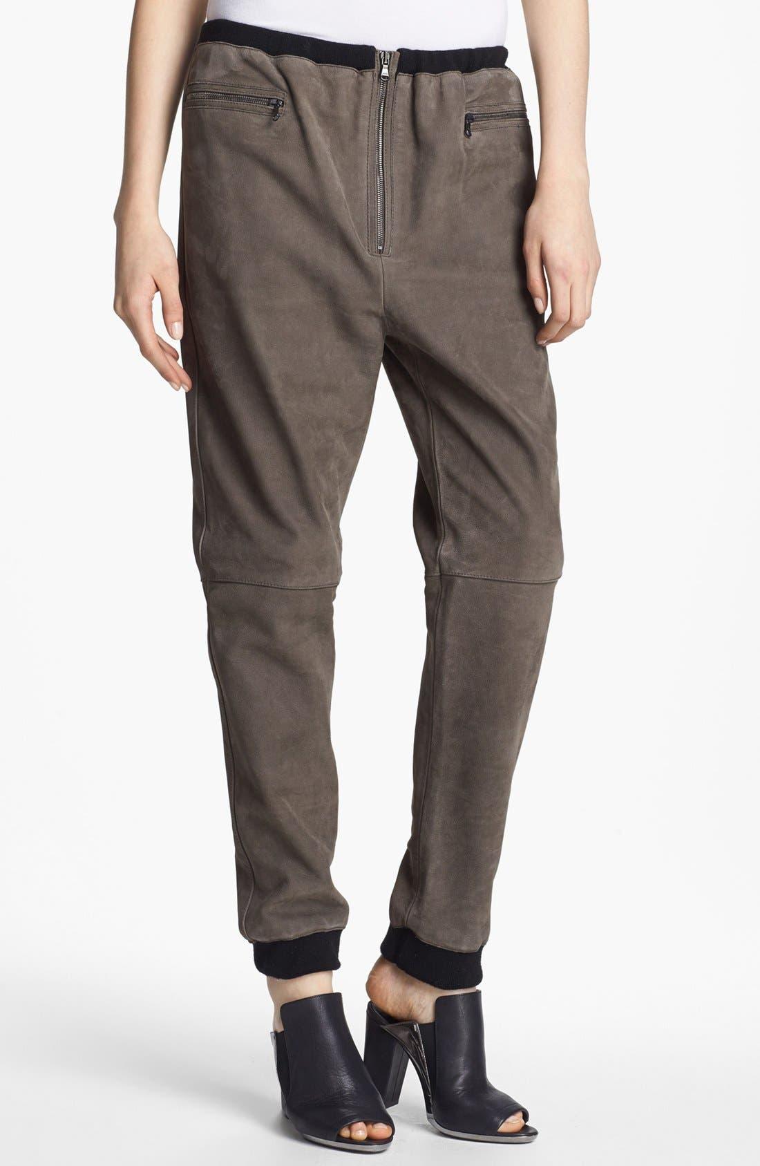 Main Image - 3.1 Phillip Lim Oversized Leather Track Pants