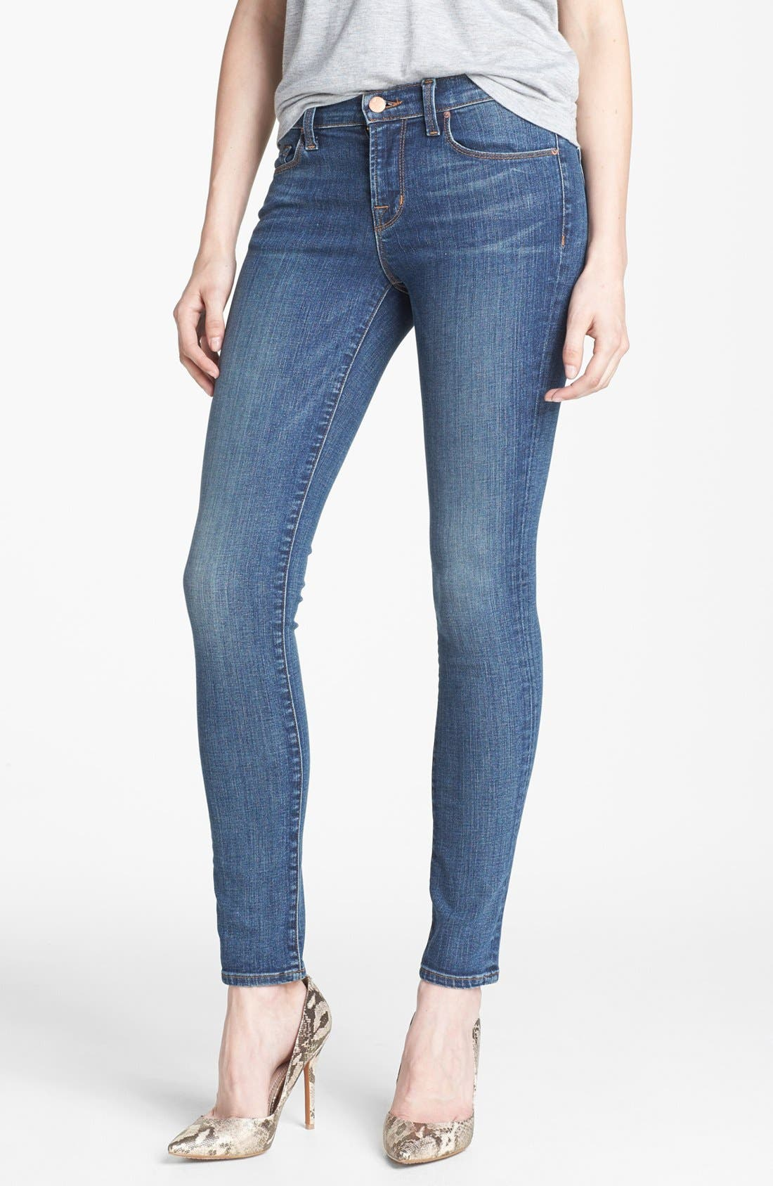 Alternate Image 1 Selected - J Brand '811' Skinny Stretch Jeans (Skylar)