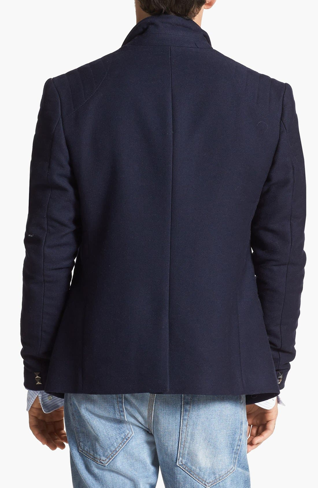 Alternate Image 3  - Edun Moto Stitch Sportcoat