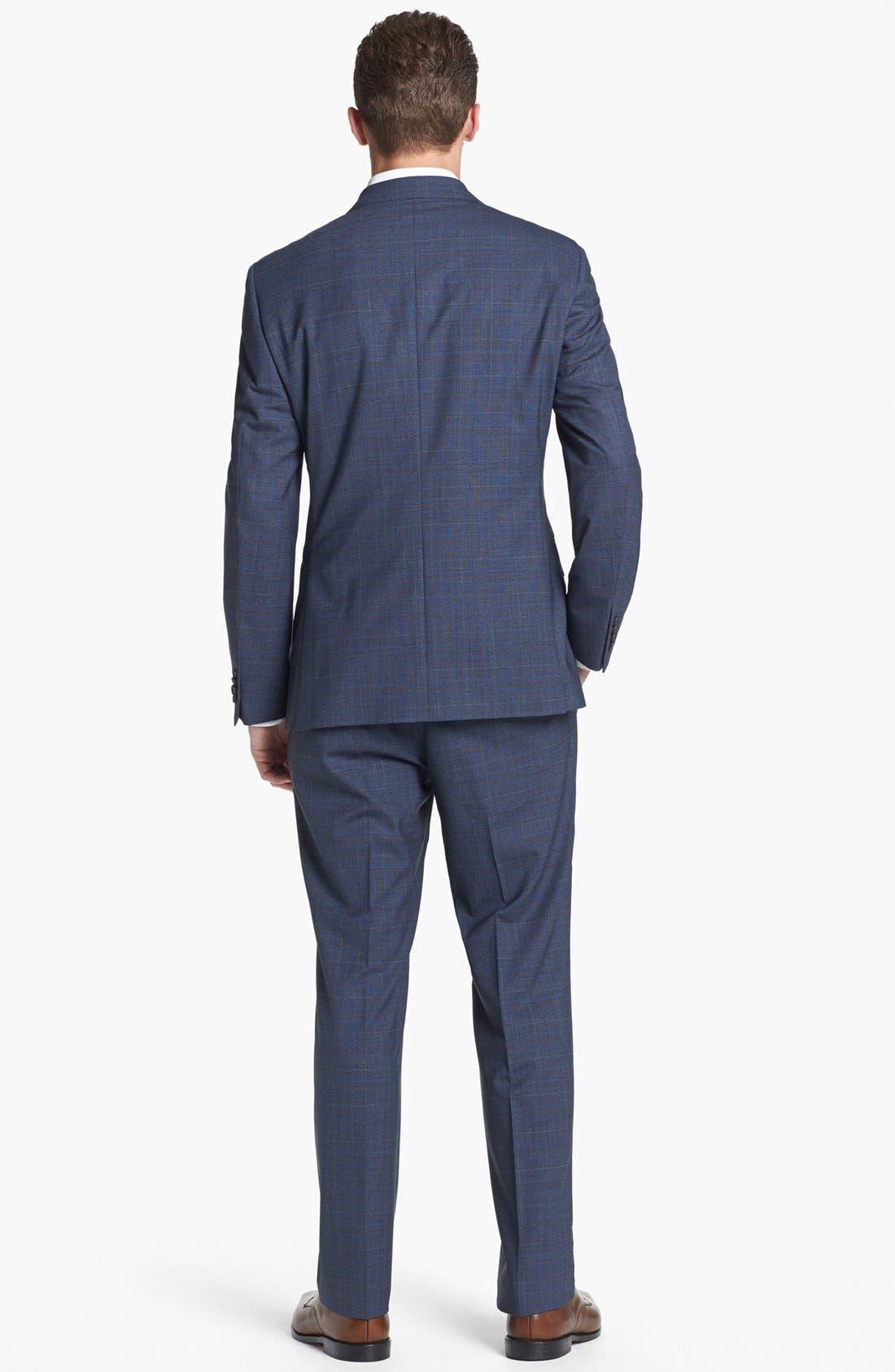 Alternate Image 3  - Z Zegna Plaid Wool Suit