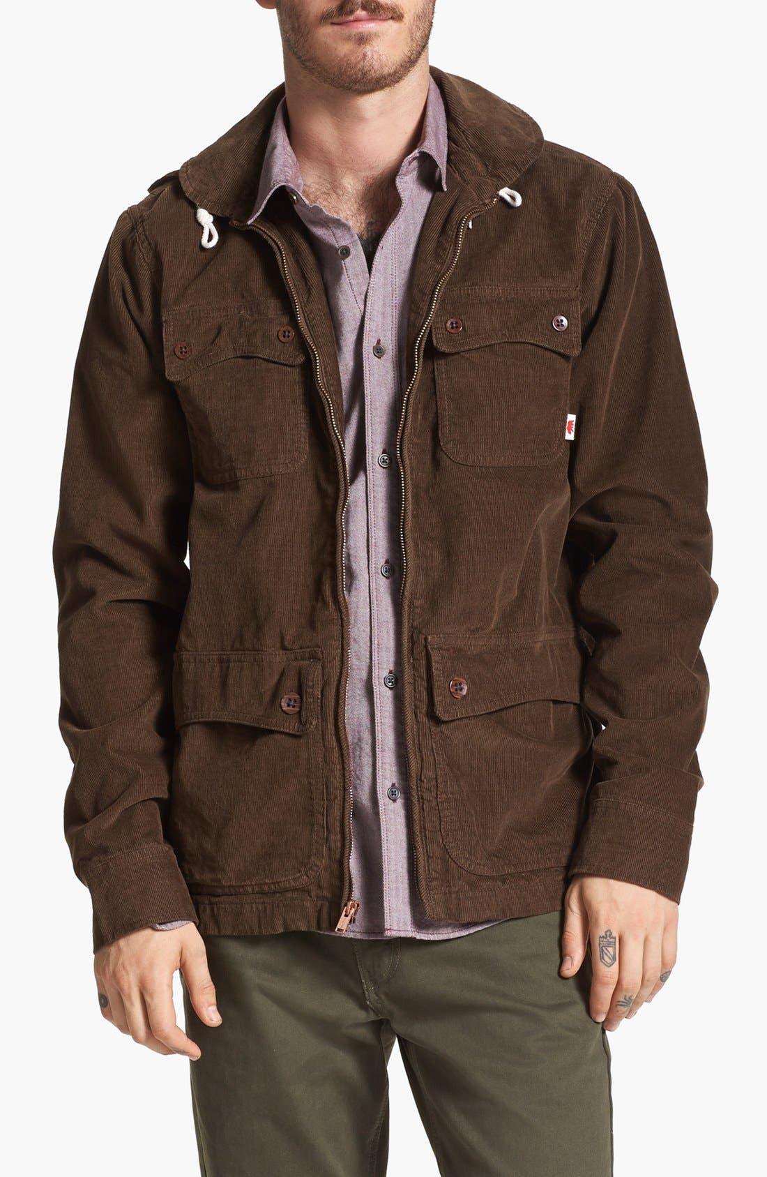 Main Image - Vans 'Carlsbad' Corduroy Jacket