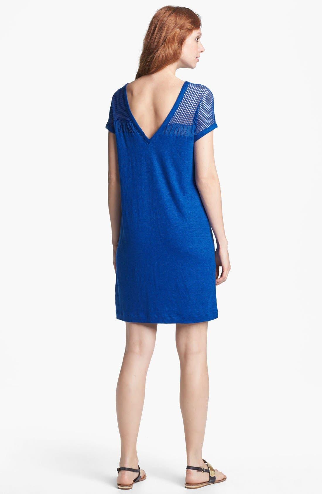 Alternate Image 2  - MARC BY MARC JACOBS Linen Shift Dress