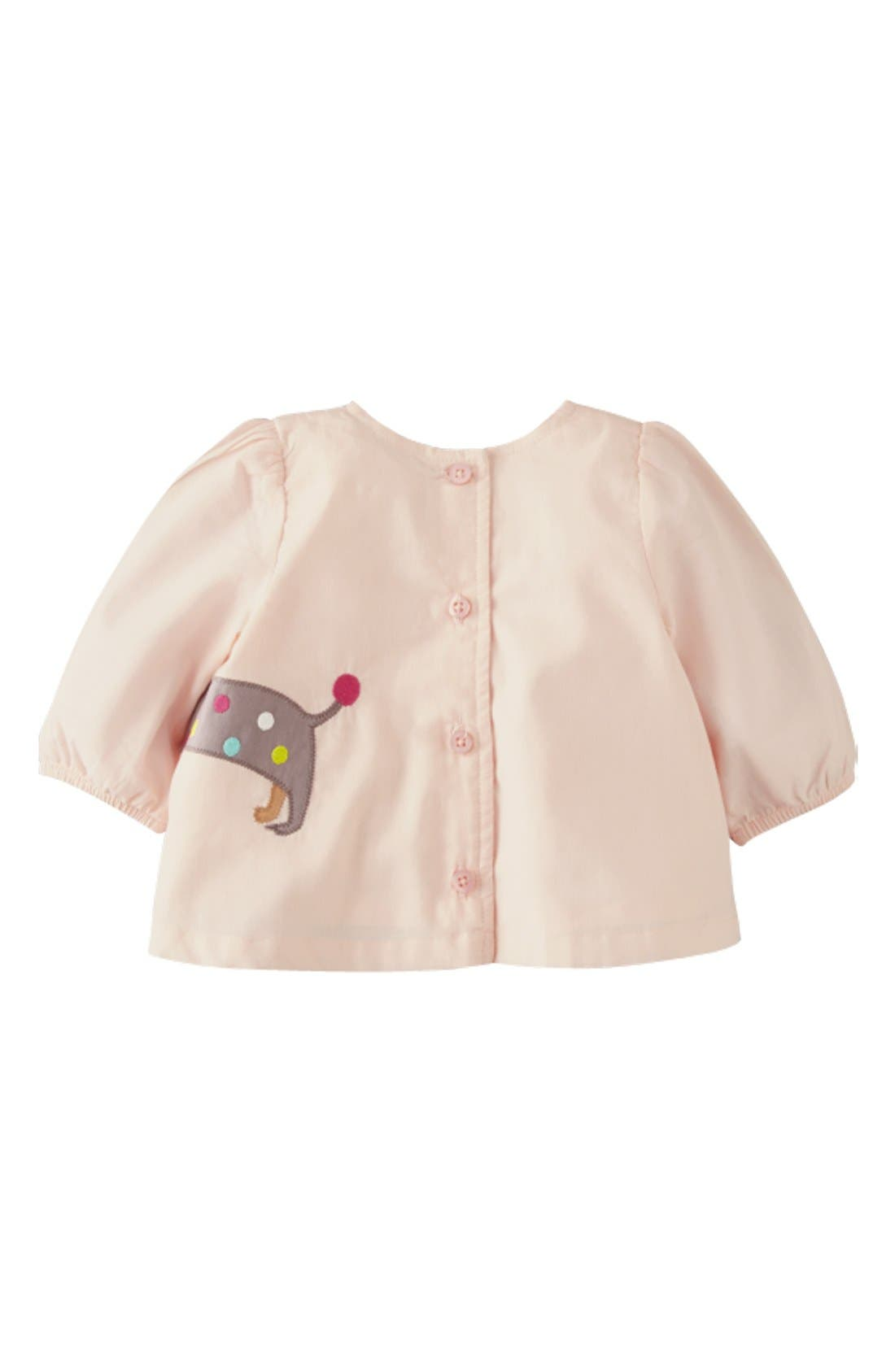 Alternate Image 2  - Mini Boden Appliqué Tunic & Pants (Baby Girls)