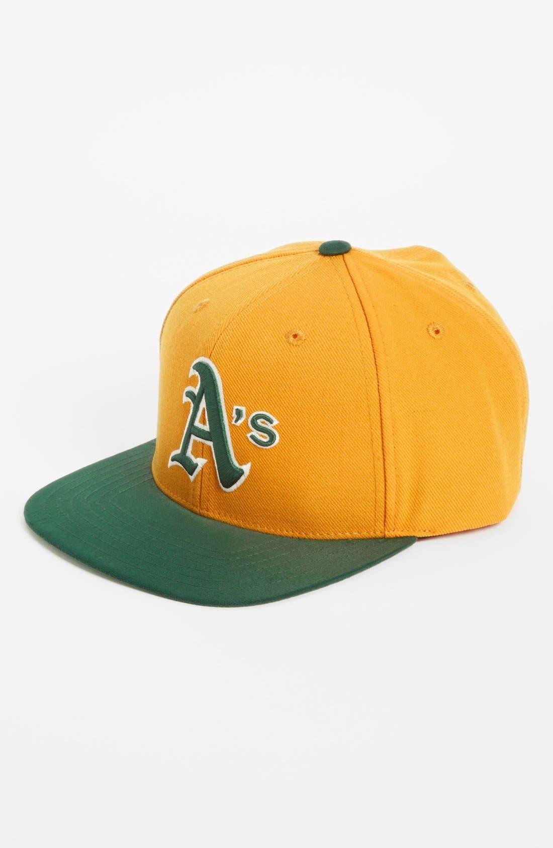 Main Image - American Needle 'Suedehead - Athletics' Baseball Cap