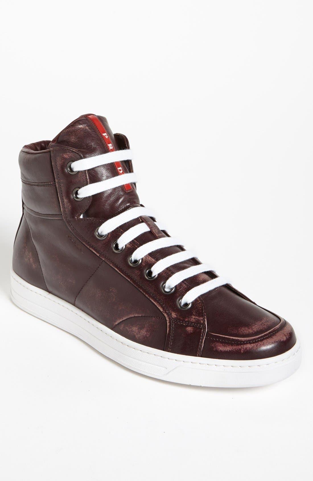 Alternate Image 1 Selected - Prada 'Avenue' Sneaker (Men)