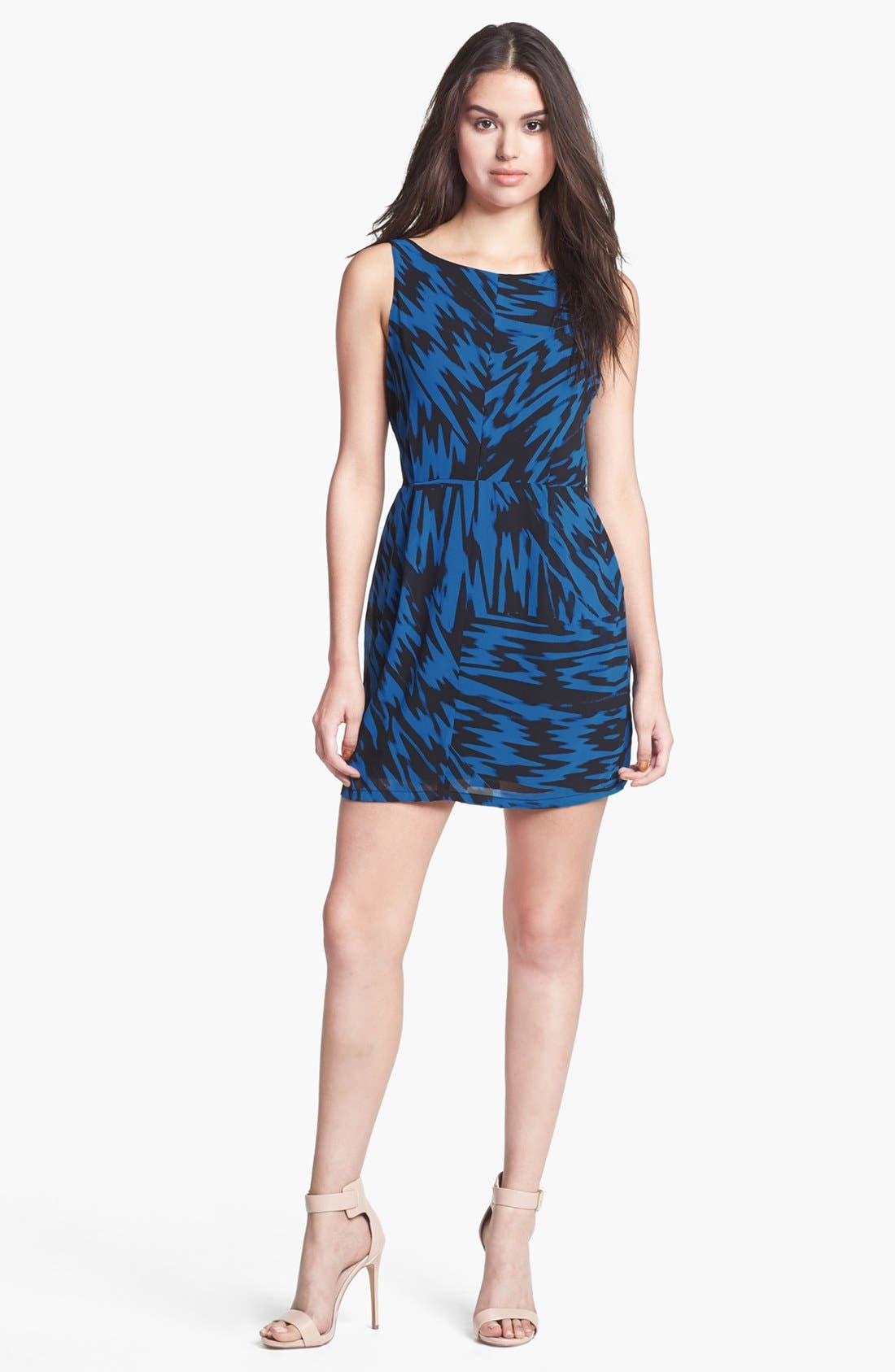 Alternate Image 1 Selected - BB Dakota 'Nicki' Print Sheath Dress