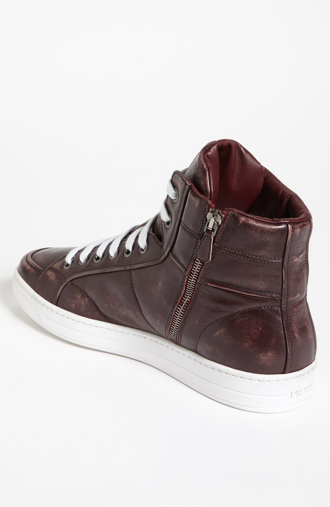 Alternate Image 2  - Prada 'Avenue' Sneaker (Men)