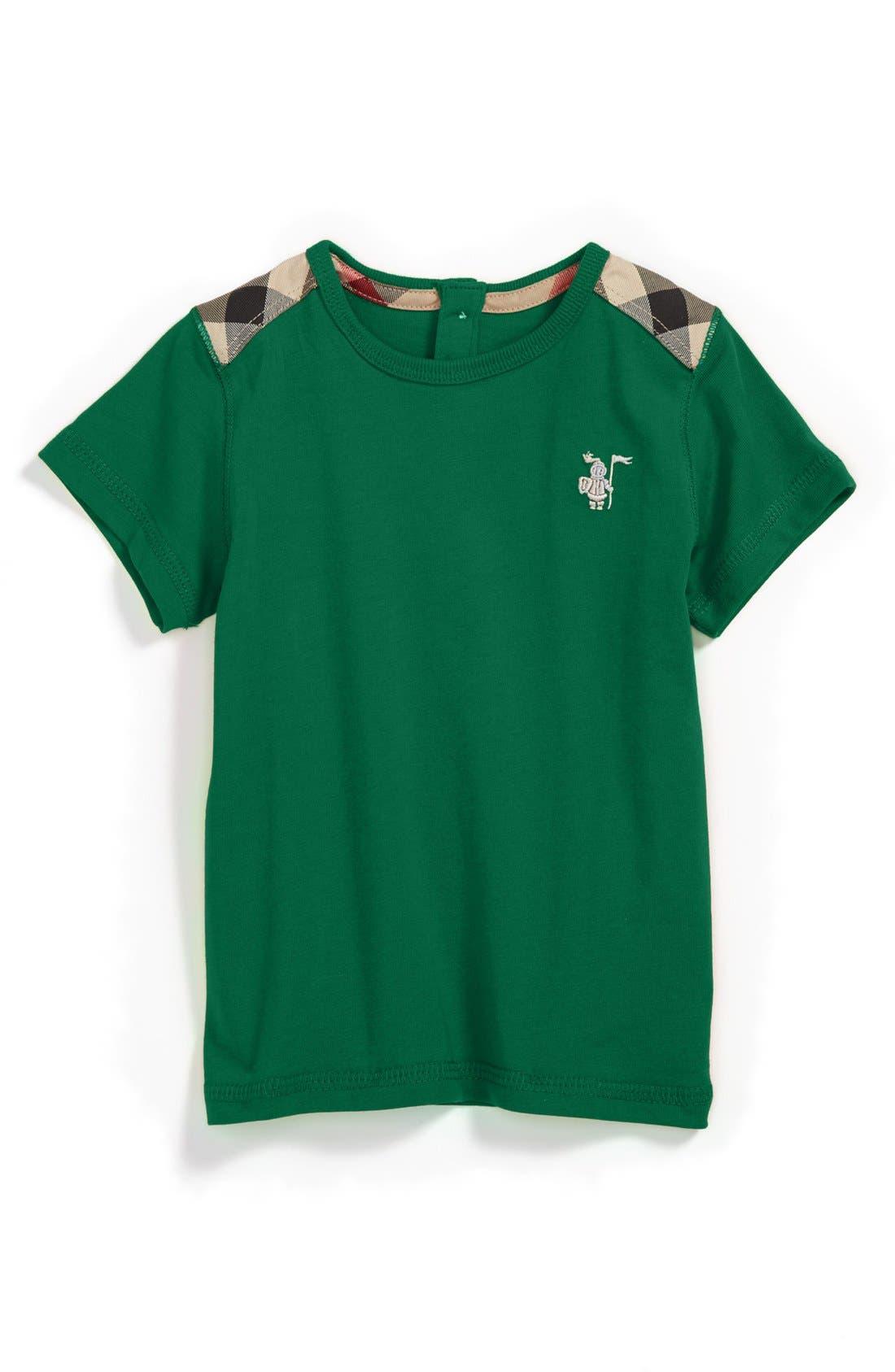 Alternate Image 1 Selected - Burberry 'Lencel' T-Shirt (Toddler Boys)
