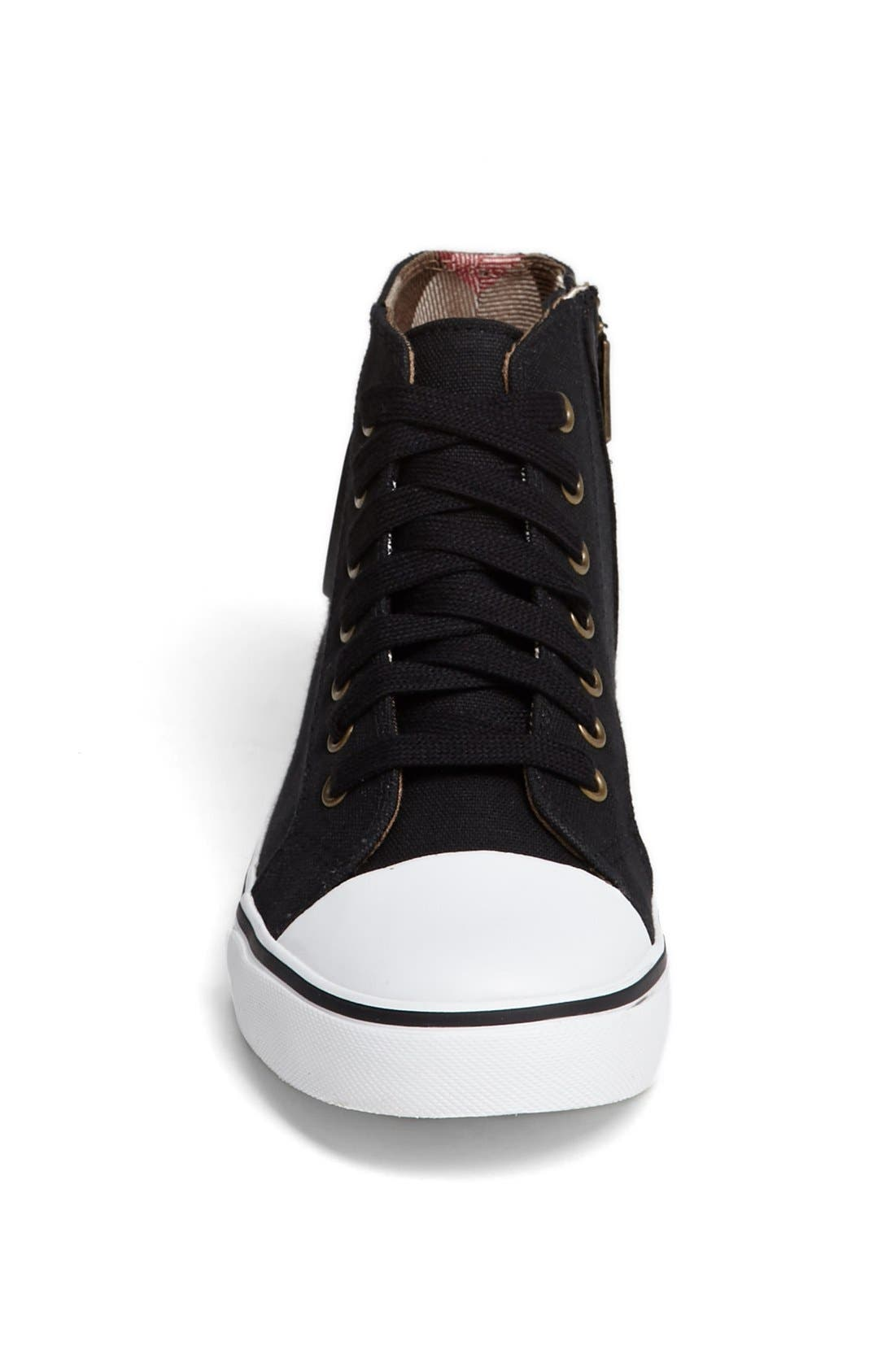 Alternate Image 3  - Burberry 'Blaze' High Top Sneaker (Walker, Toddler & Little Kid)
