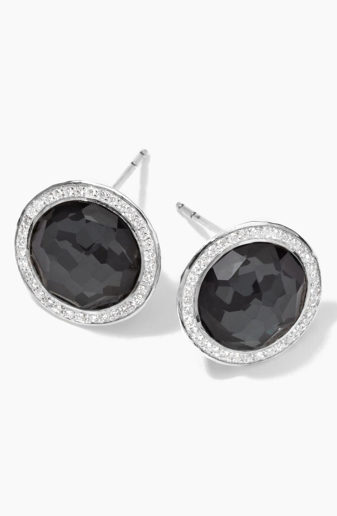 Ippolita 'Stella' Diamond & Stone Stud Earrings