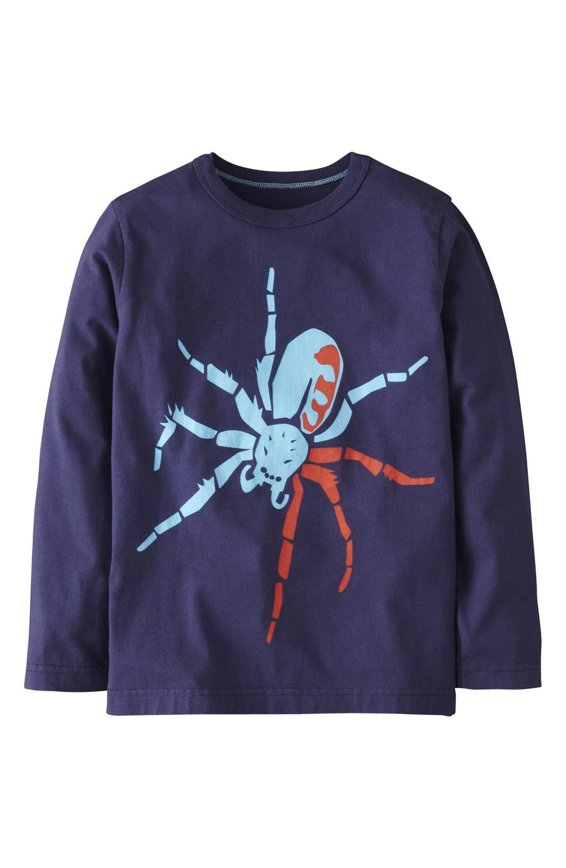Alternate Image 1 Selected - Mini Boden 'Big Bugs' Long Sleeve T-Shirt (Toddler Boys)