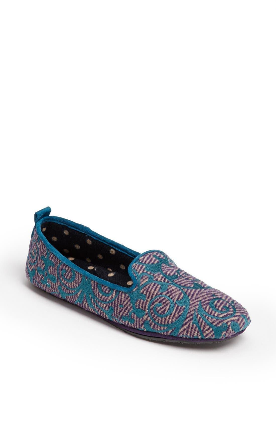 'Novella' Slipper,                         Main,                         color, Purple Swirl