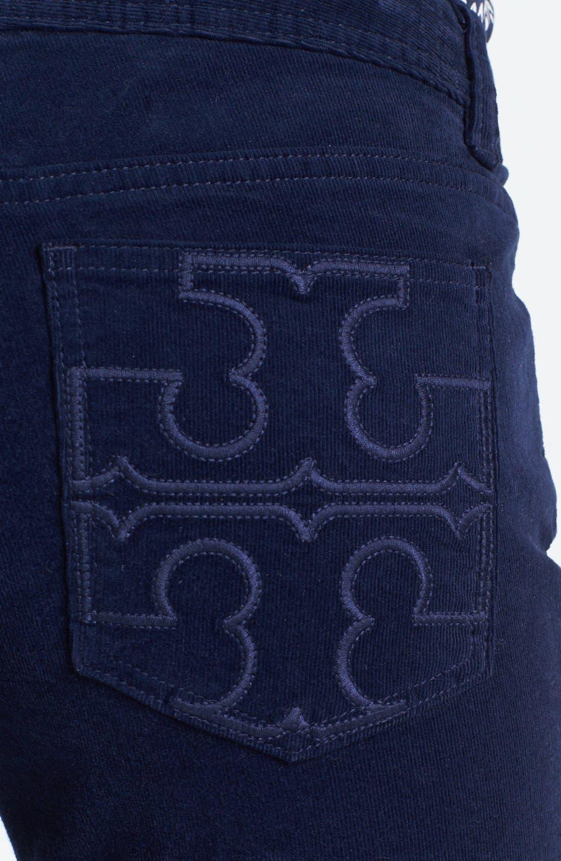 Alternate Image 3  - Tory Burch 'Classic Tory' Corduroy Pants