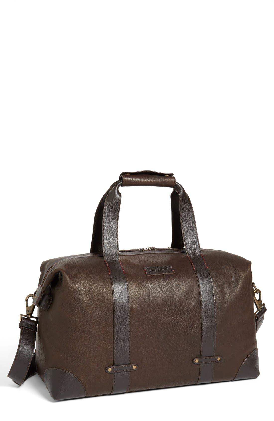 'Jackson' Duffel Bag,                         Main,                         color, Earth Bison