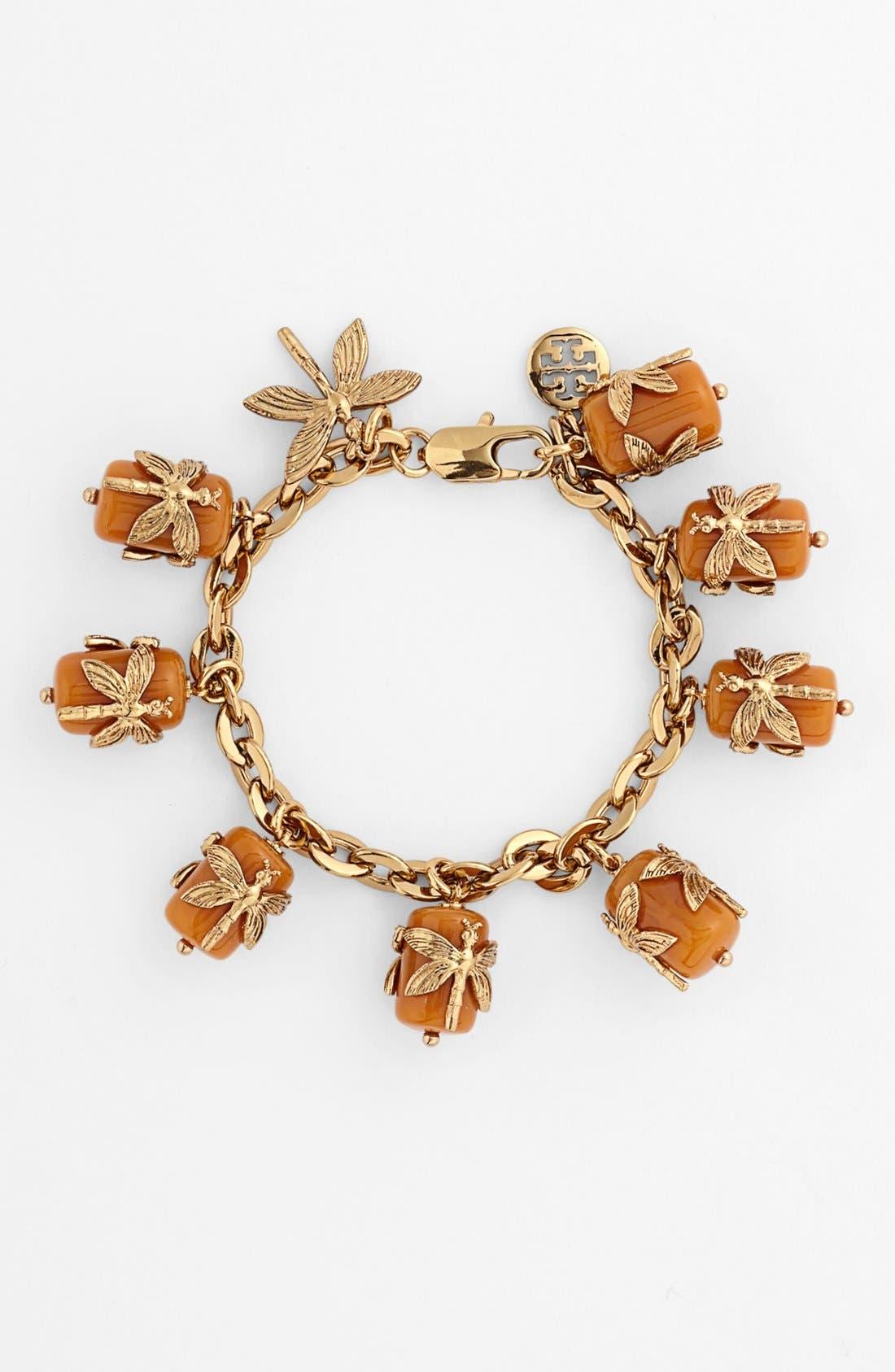 Main Image - Tory Burch Dragonfly Charm Bracelet
