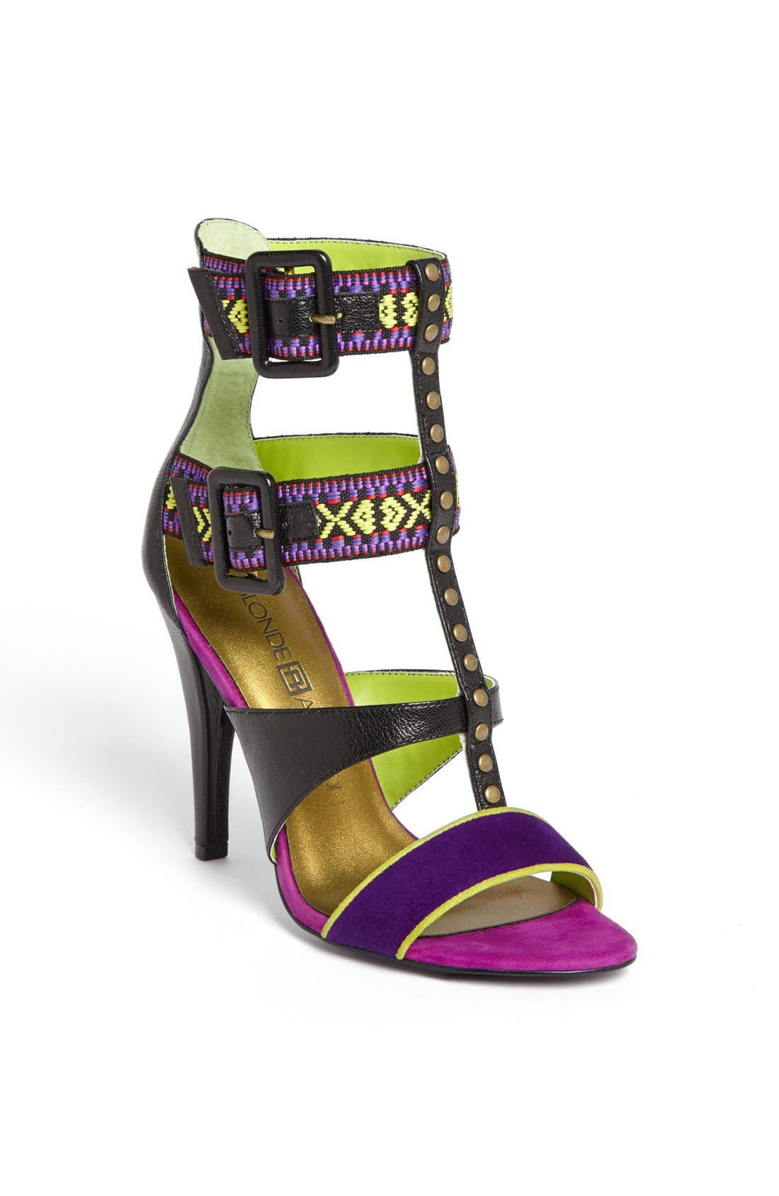Alternate Image 1 Selected - Blonde Ambition 'Rica' Sandal