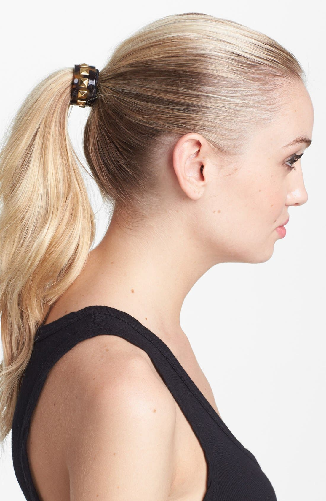 Main Image - L. Erickson 'Cleo' Cuff Ponytail Holder