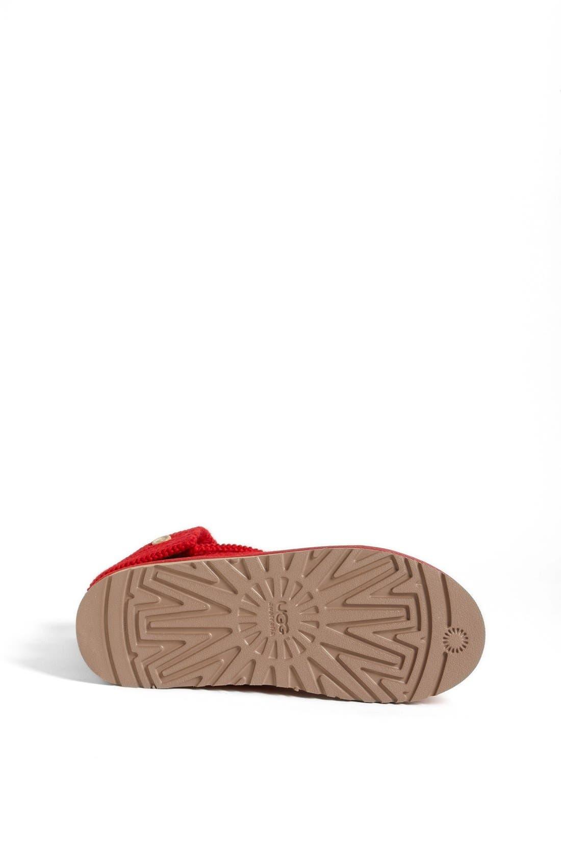 Alternate Image 4  - UGG® 'Cardy' Crochet Boot (Toddler, Little Kid & Big Kid)