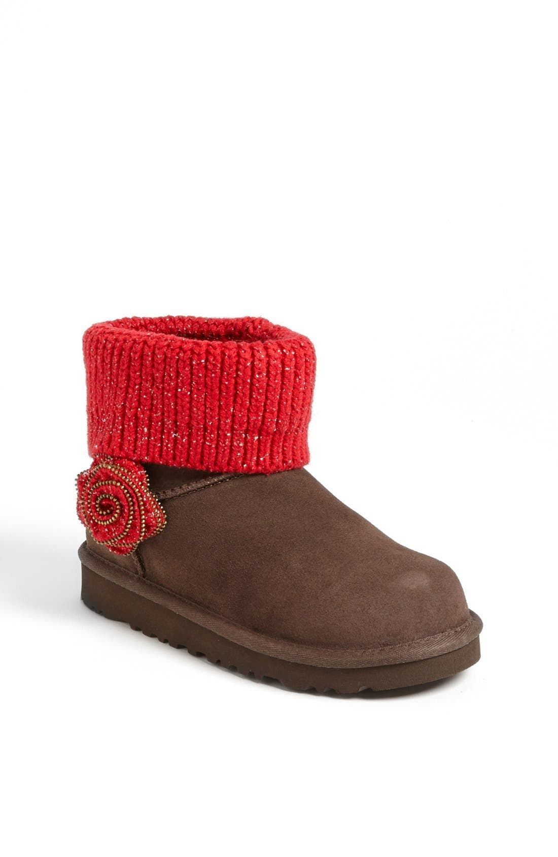 Australia 'Southern Belle' Boot,                             Main thumbnail 1, color,                             Chocolate