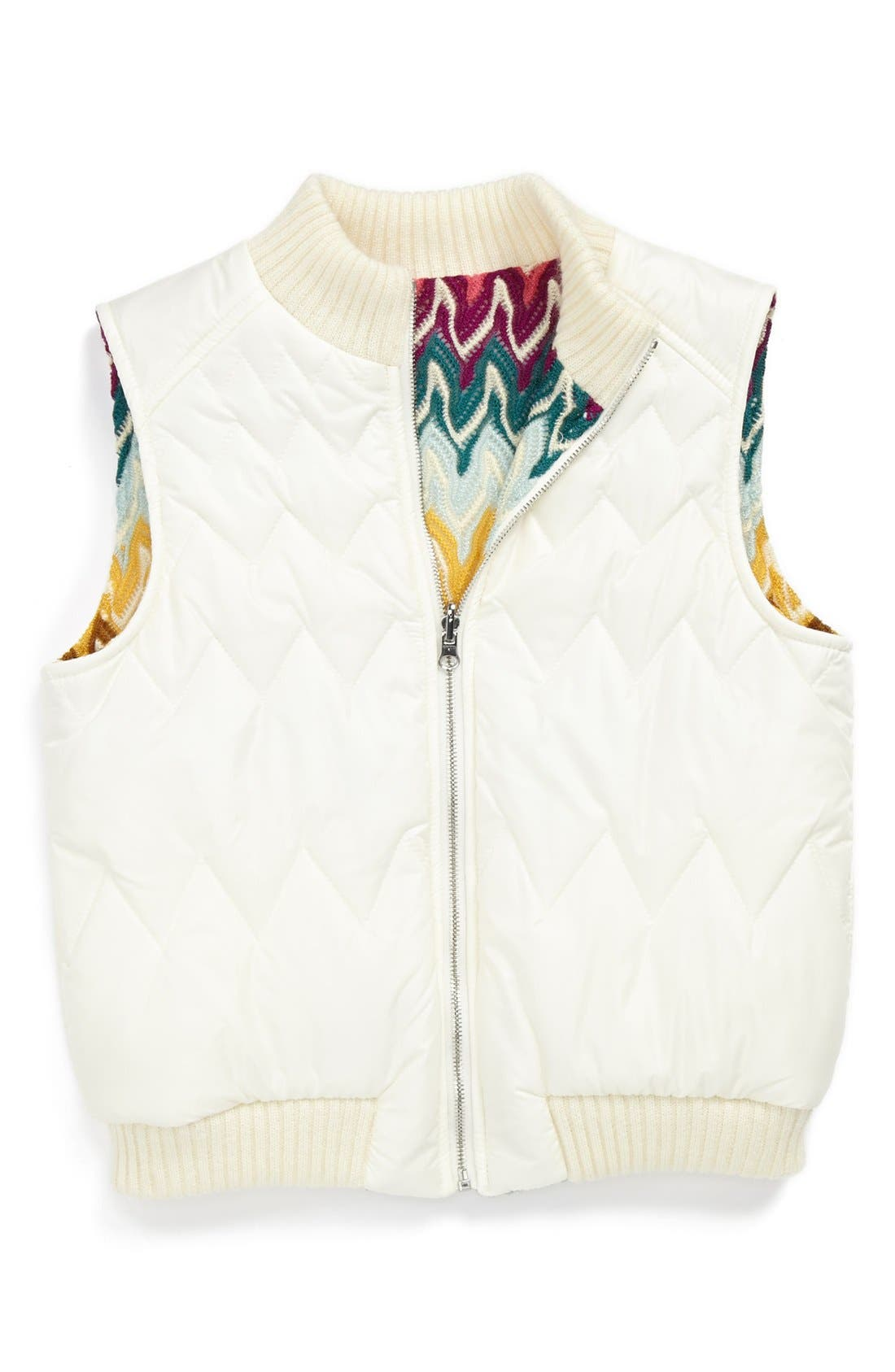 Main Image - Missoni Reversible Vest (Toddler Girls, Little Girls & Big Girls)