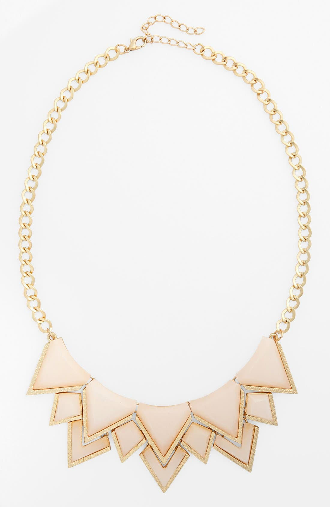 Alternate Image 1 Selected - Leith Multi Triangle Statement Necklace