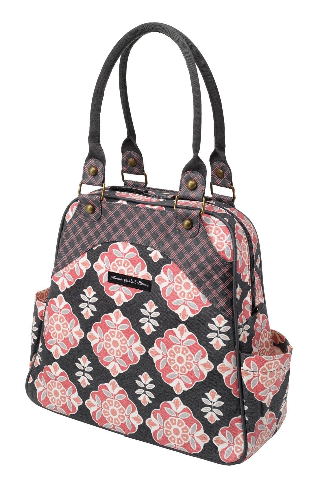 Main Image - Petunia Pickle Bottom 'Sashay Satchel' Organic Cotton Diaper Bag