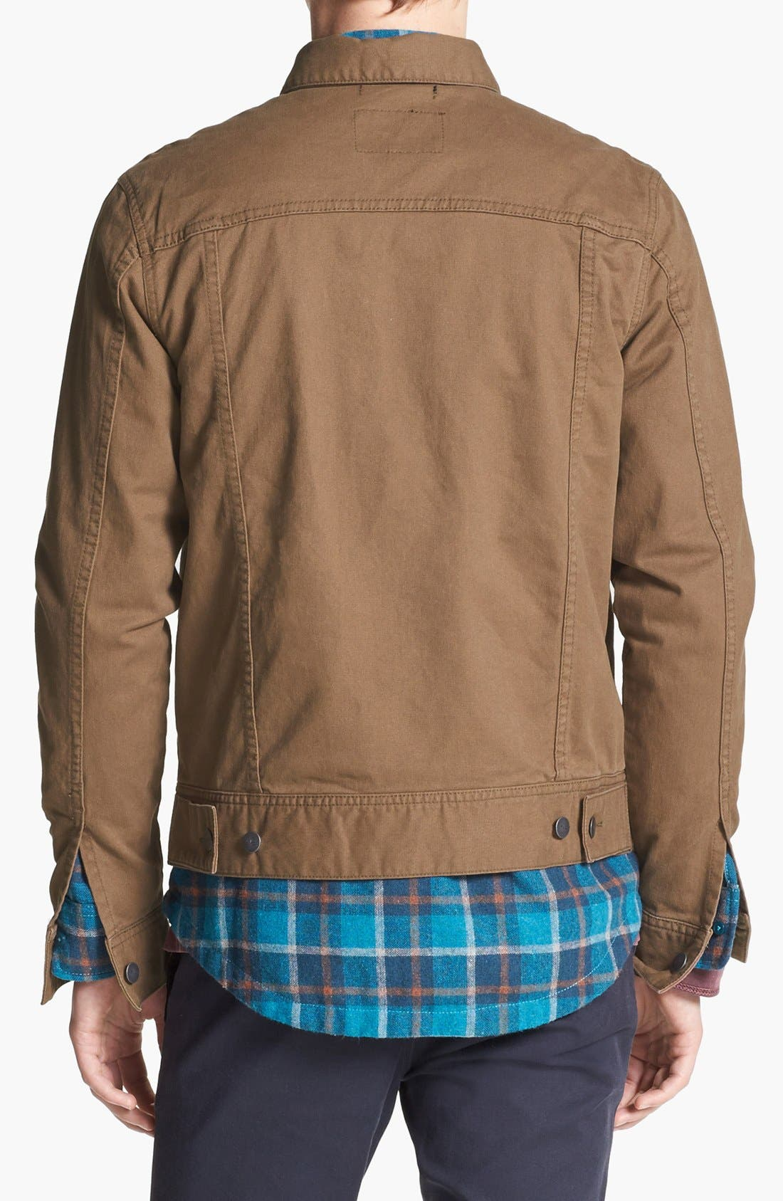 Alternate Image 2  - RVCA 'Jeano' Denim Jacket