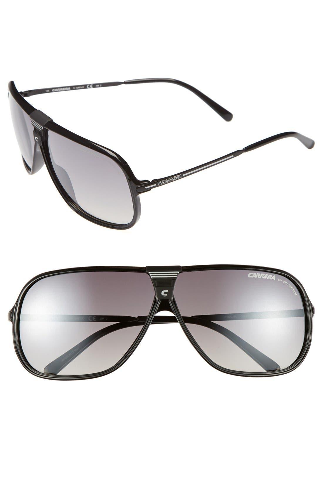 Alternate Image 1 Selected - Carrera Eyewear 'Picchu' 64mm Sunglasses