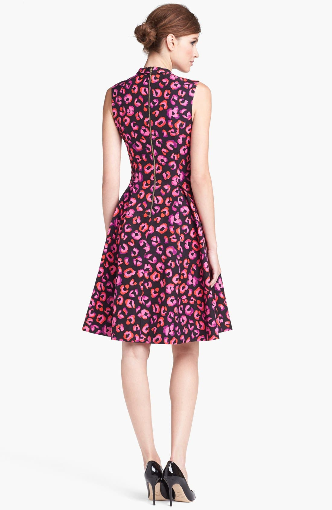 Alternate Image 2  - kate spade new york 'kimi' cotton & silk a-line dress