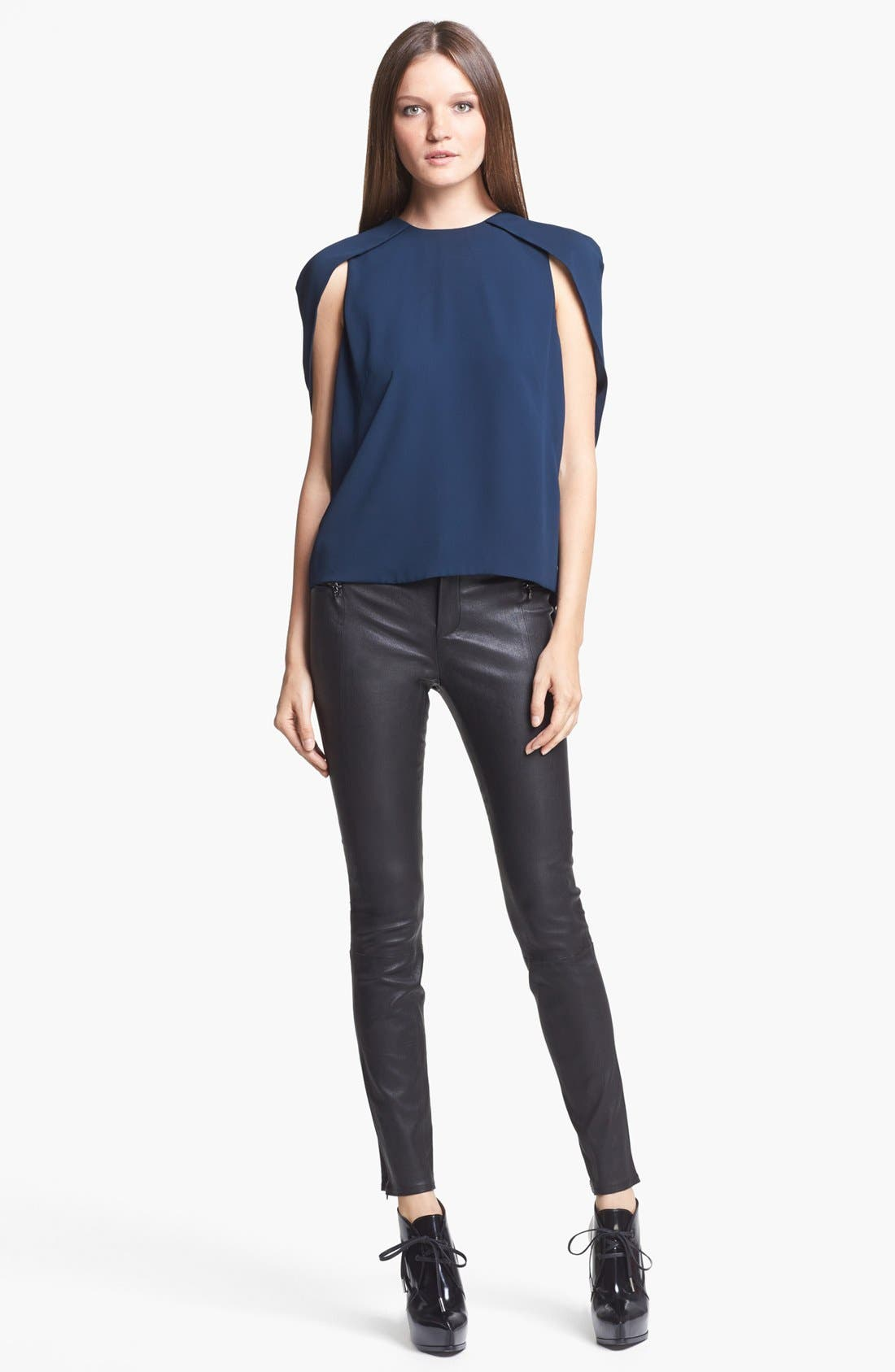 Alternate Image 4  - J Brand Ready-to-Wear 'Cowley' Crepe Top
