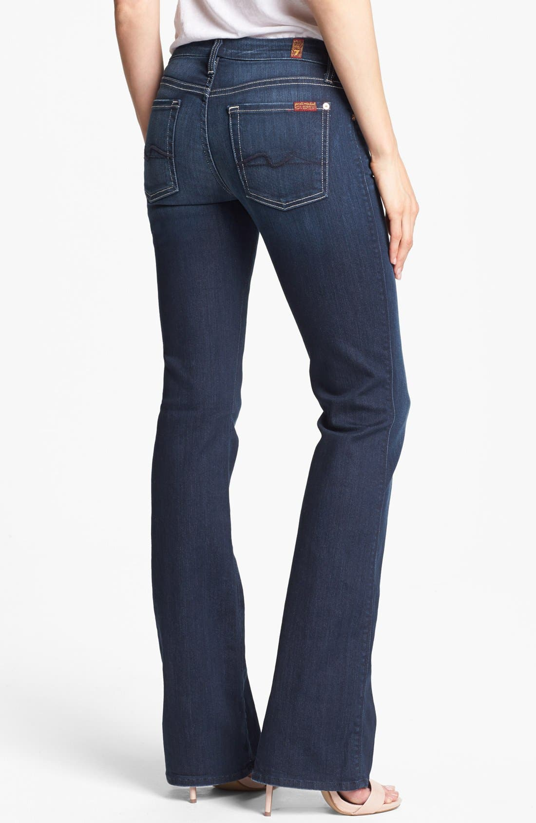 Alternate Image 2  - 7 For All Mankind® 'Kimmie' Bootcut Jeans (Vixen Sky)