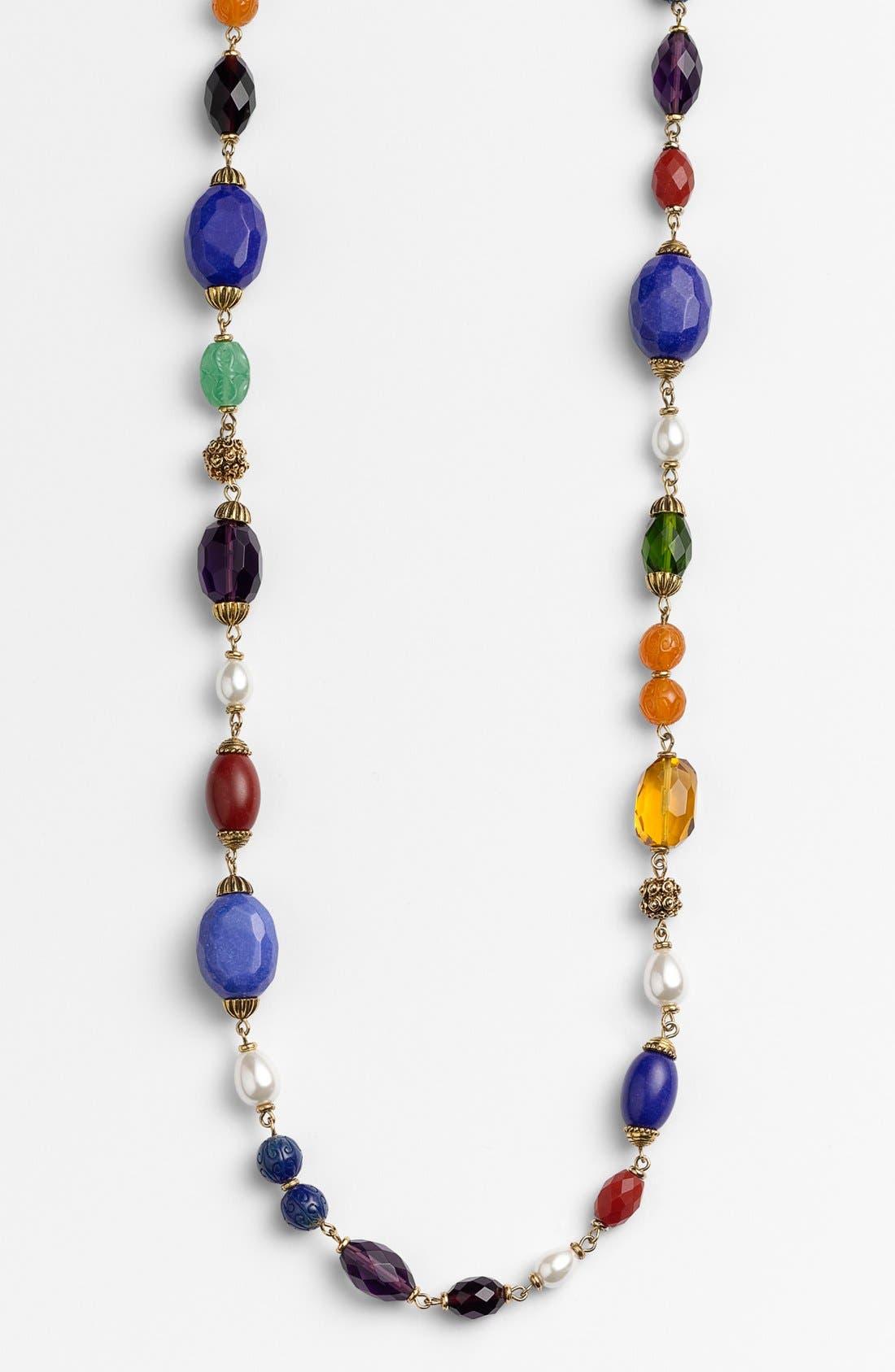 Alternate Image 2  - Lauren Ralph Lauren Long Beaded Necklace